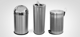 Stainless Steel Waste Bins