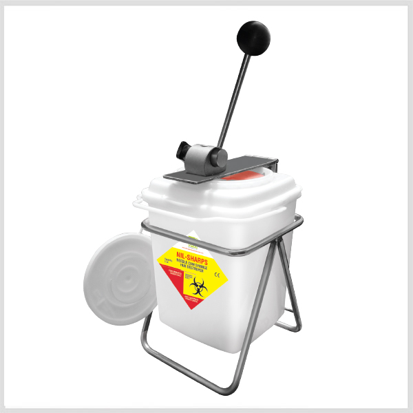Manual Needle Destroyer – 3 Ltr.