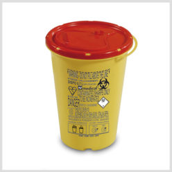 Plastic Sharps Container-0.7ltr