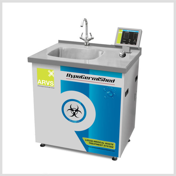 Biomedical Liquid Waste Treatment System Hypogermished – 125Ltr