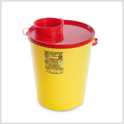Plastic Sharps Container-12ltr
