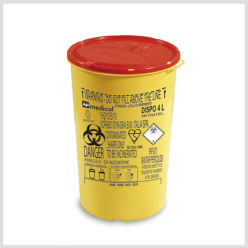 Plastic Sharps Container-4ltr