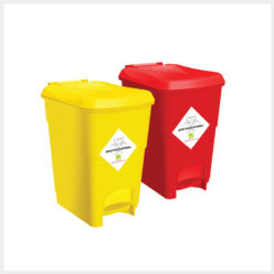 Plastic Dustbin-with-foot-padel-15ltr