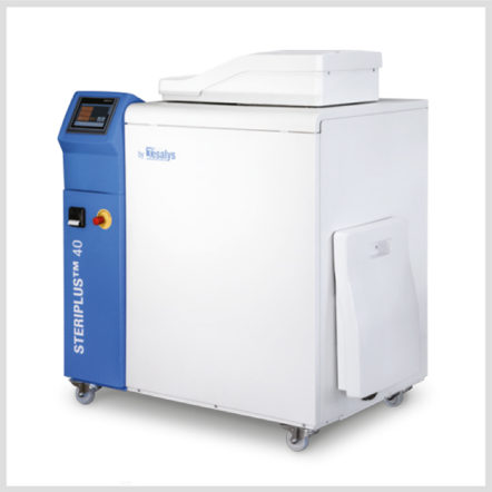 Steriplus with integrated Shredder and Autoclave