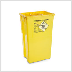 Disposable Waste Containers 60 lid double