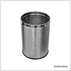 Stainless Steel Waste Bins - Open Bin S.S.