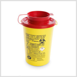 Sharps Disposal Containers – PBS Series 0.6Ltr