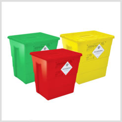 Waste Bins Without Foot Paddle and Wheels